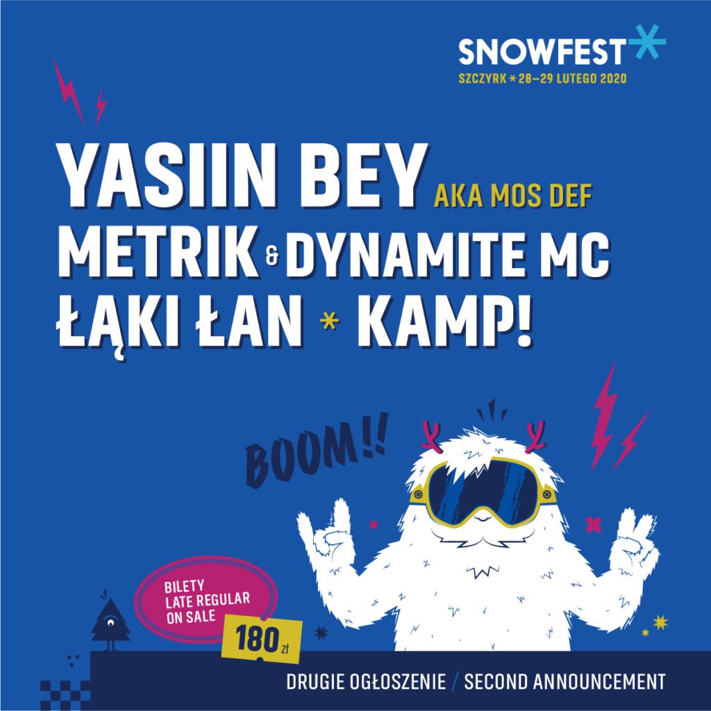 SnowFest Going. Mos Def Kamp!